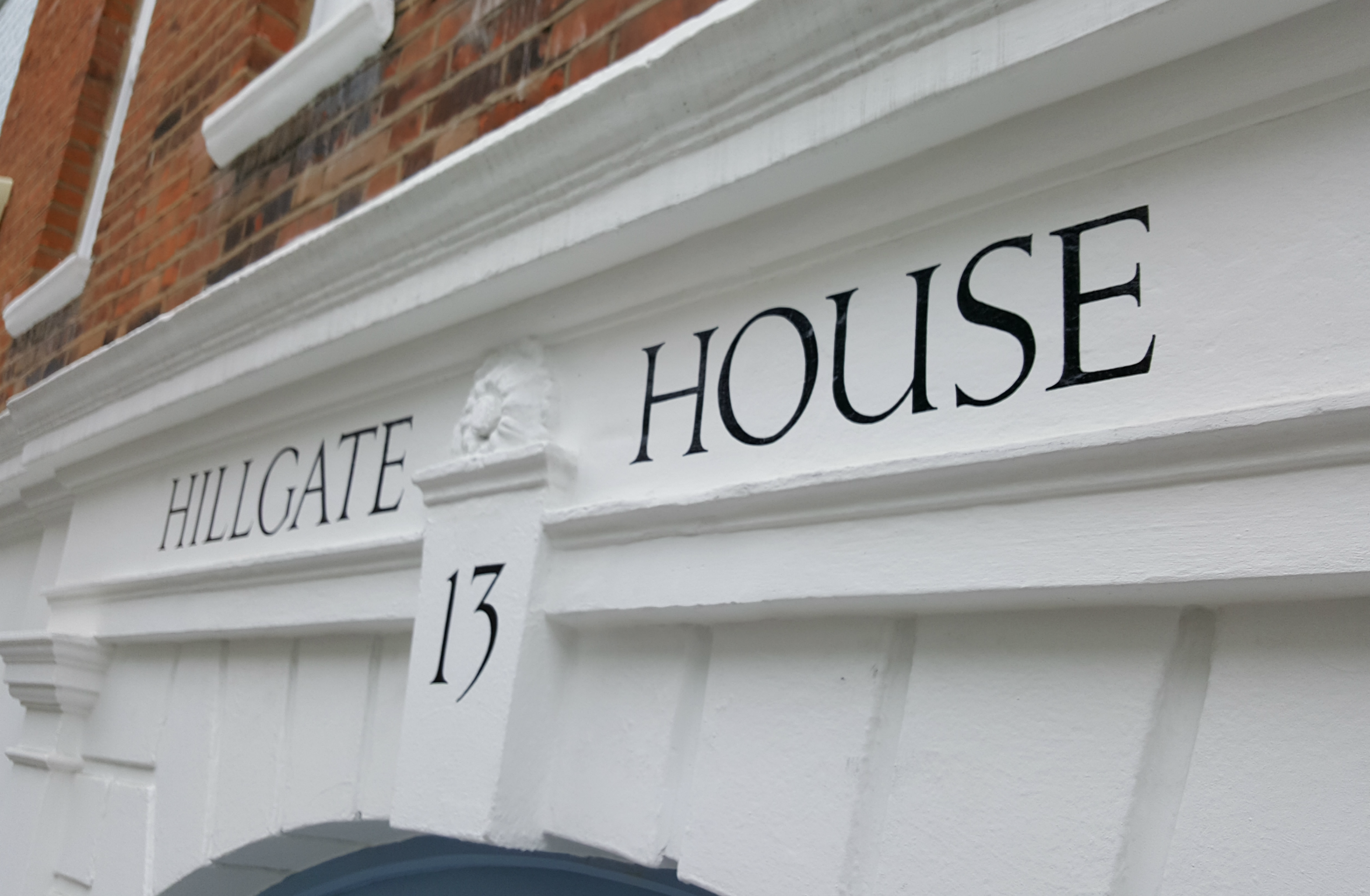 Signwriting for properties & private residences