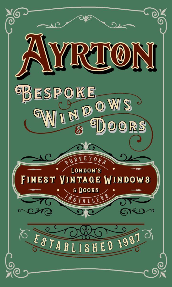 Signwriter London ayrton design